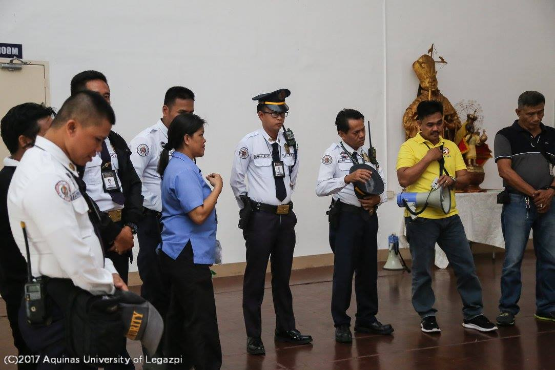 ALERT Disaster Drill (A.Y. 2017-2018, 1st Semester)