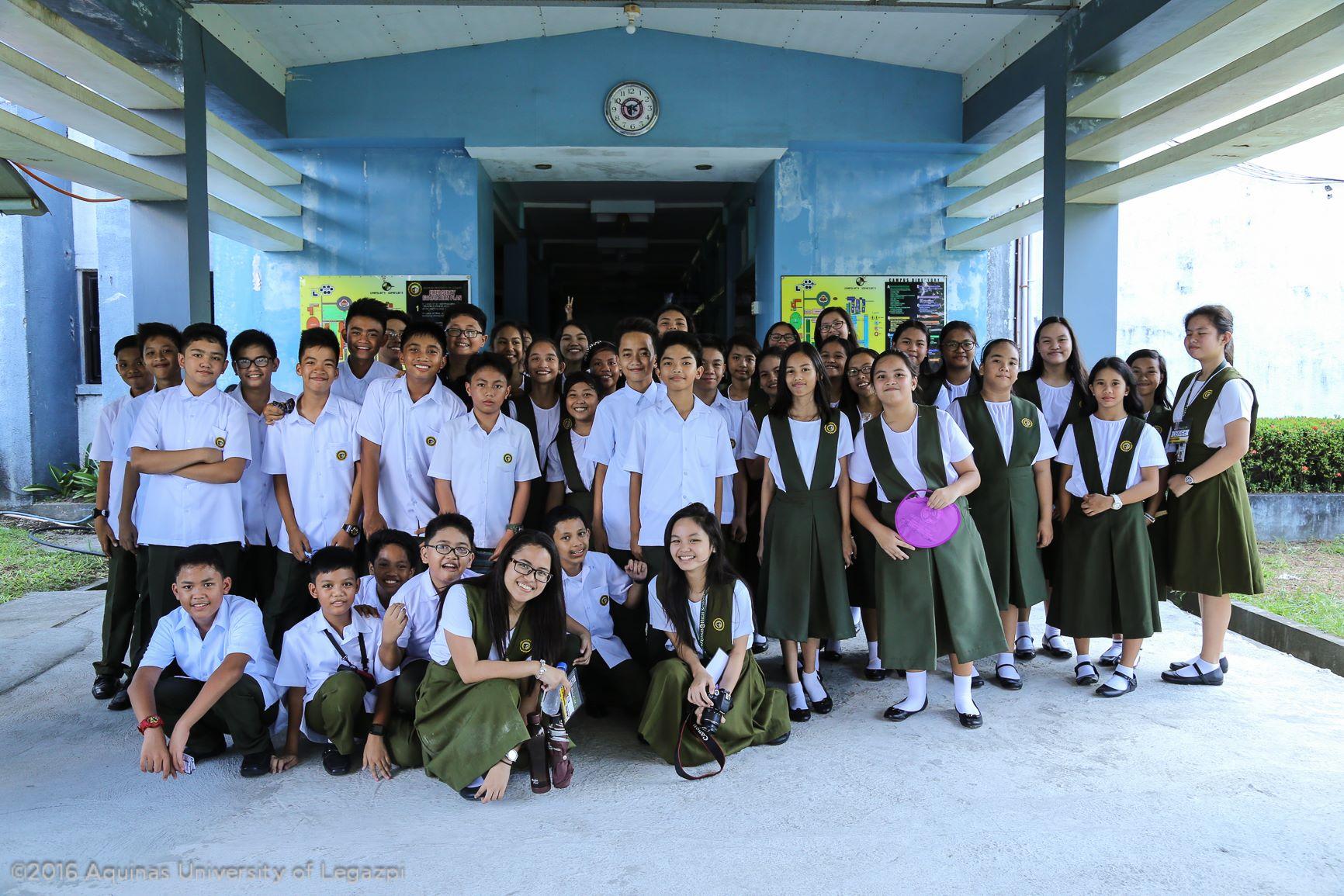 AUL Junior High and Senior High Orientation