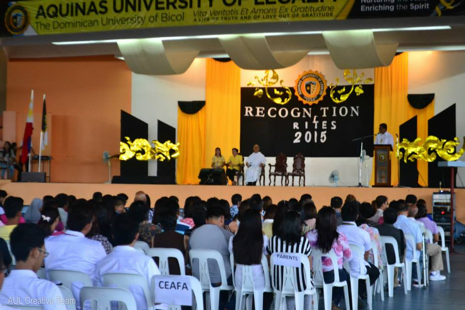 AUL Recognition Rites 2015