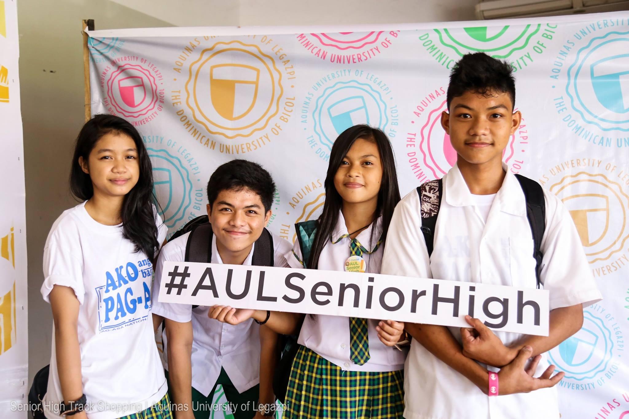 AUL Senior High Track Shopping