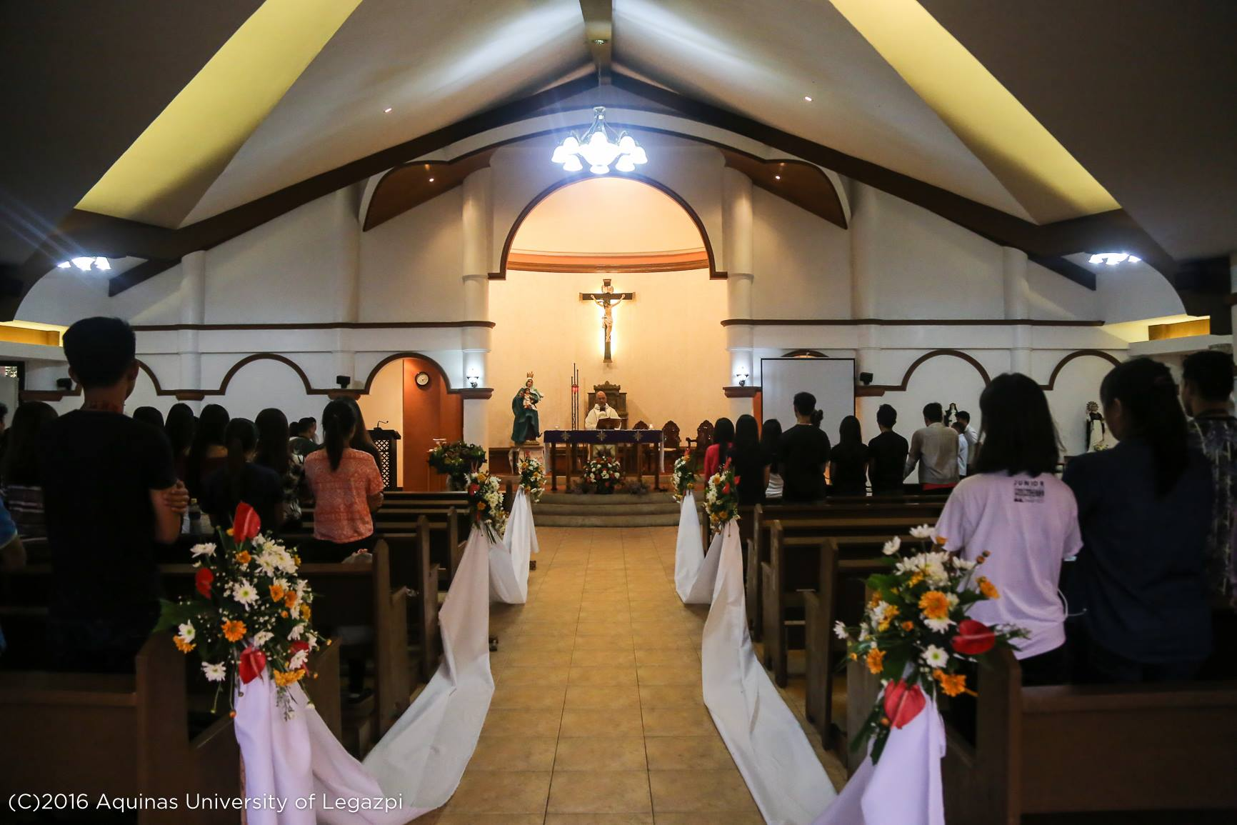 Anticipated Mass for the Feast of the Immaculate Conception