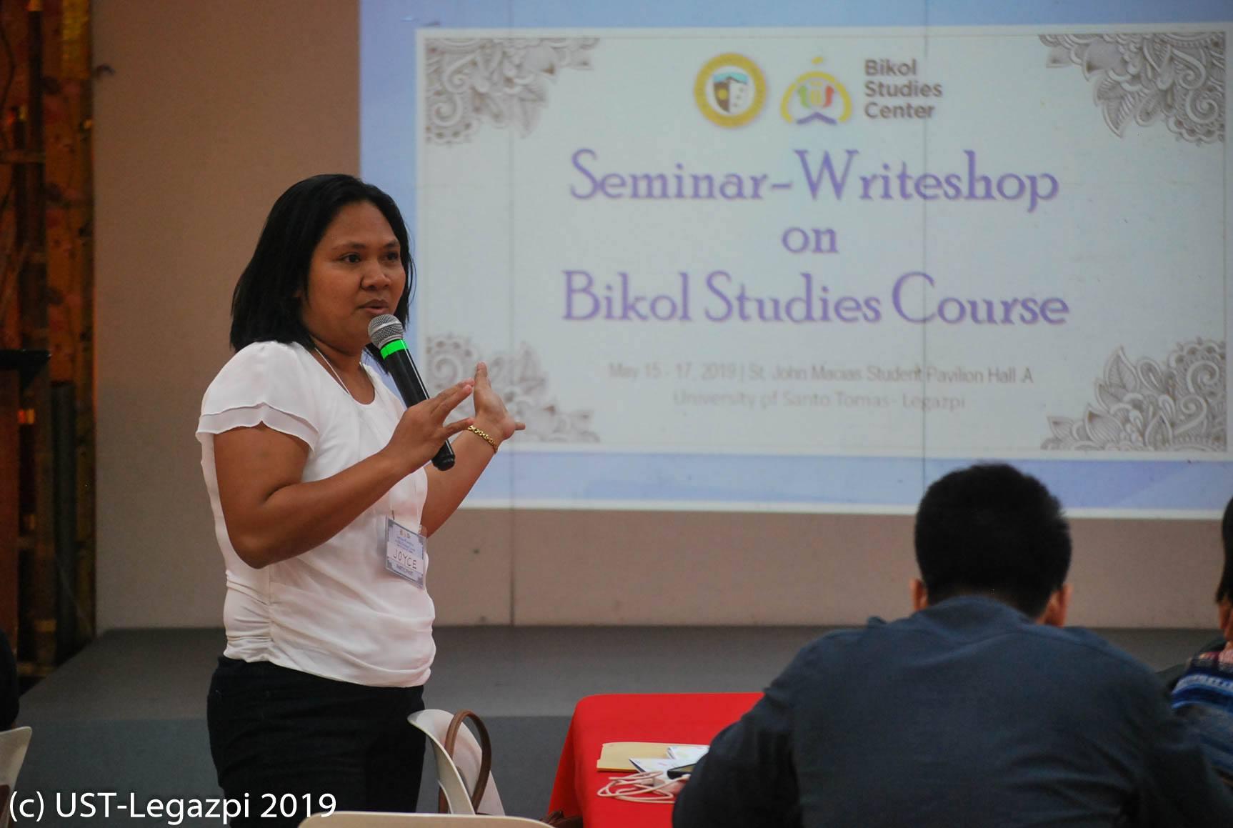 Bikol Studies Center Seminar-Writeshop on Bikol Studies Course