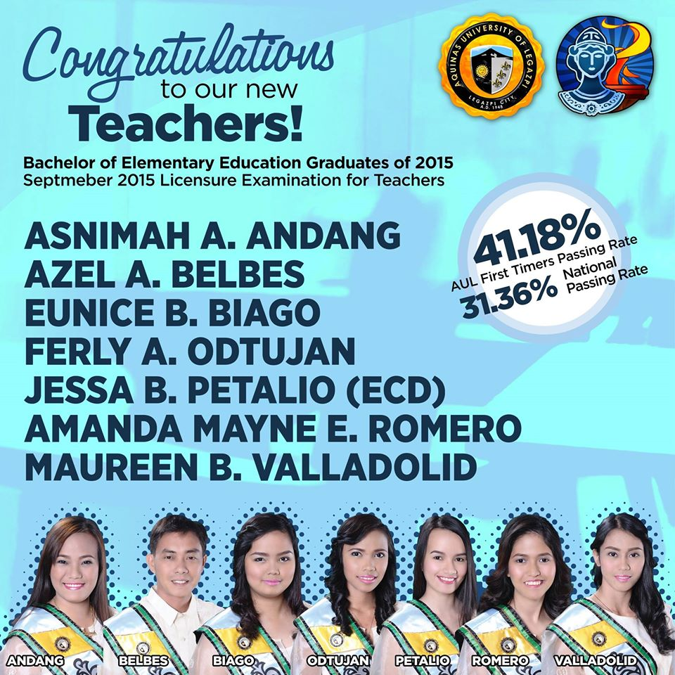 CASEyano Board Passers (LET and Psychometricians 2014)