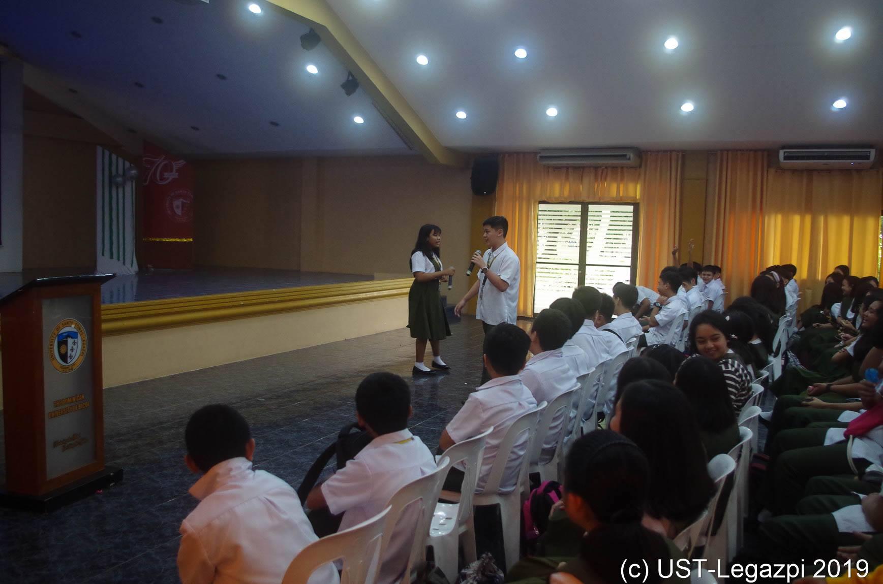 Grade 7 students and transferees' Orientation Seminar