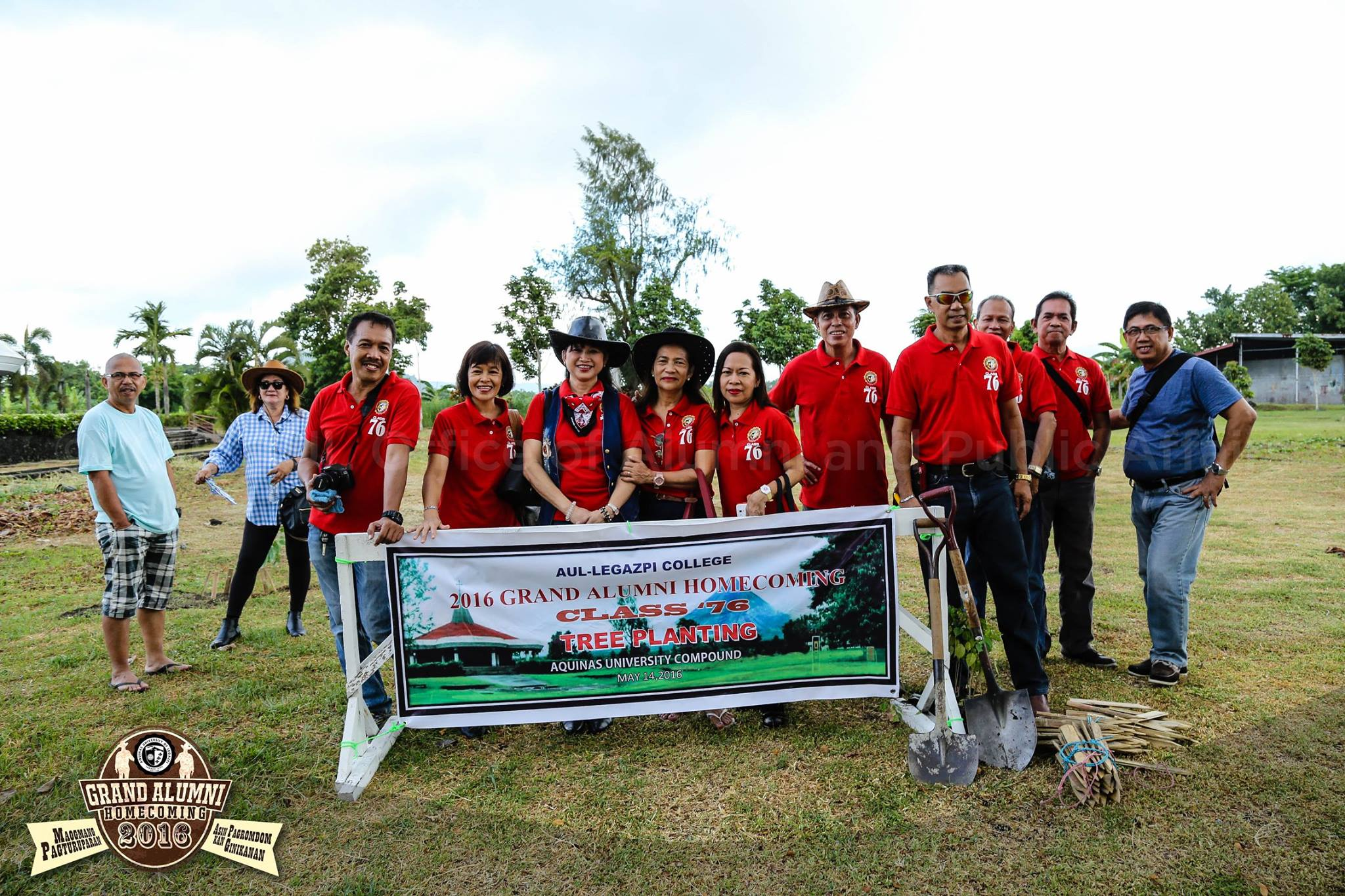 Grand Alumni Homecoming – Tree Planting and Laying of Wreath