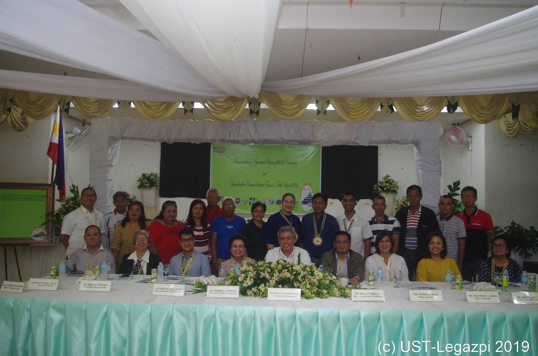MOA Signing Ceremony of the DARE TO Project