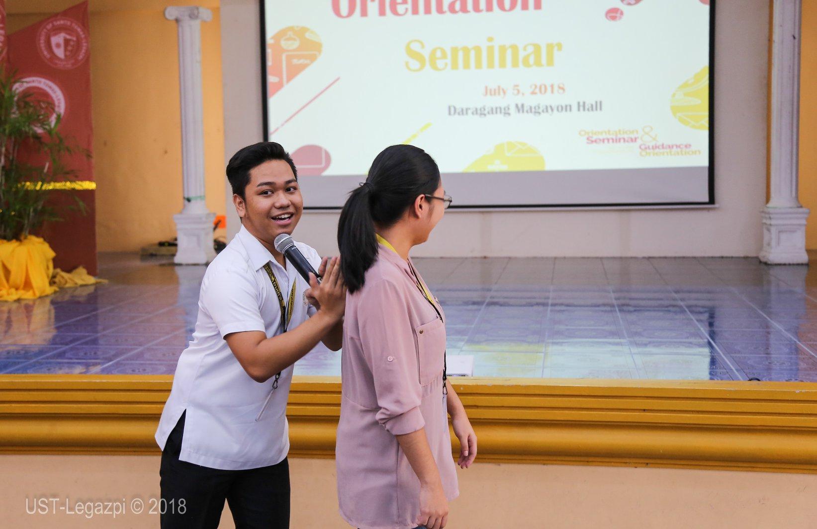 Orientation Seminar & Guidance Orientation