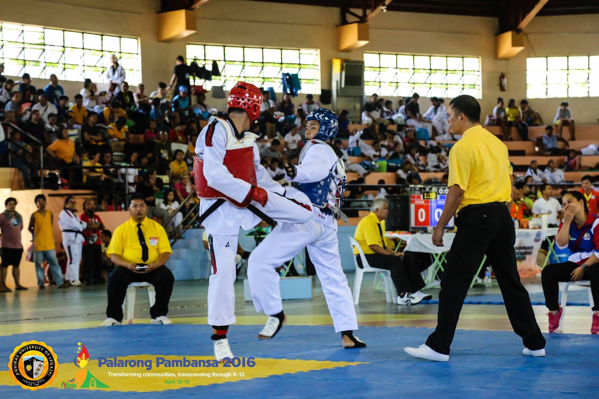 Palarong Pambansa 2016: Taekwondo and Chess