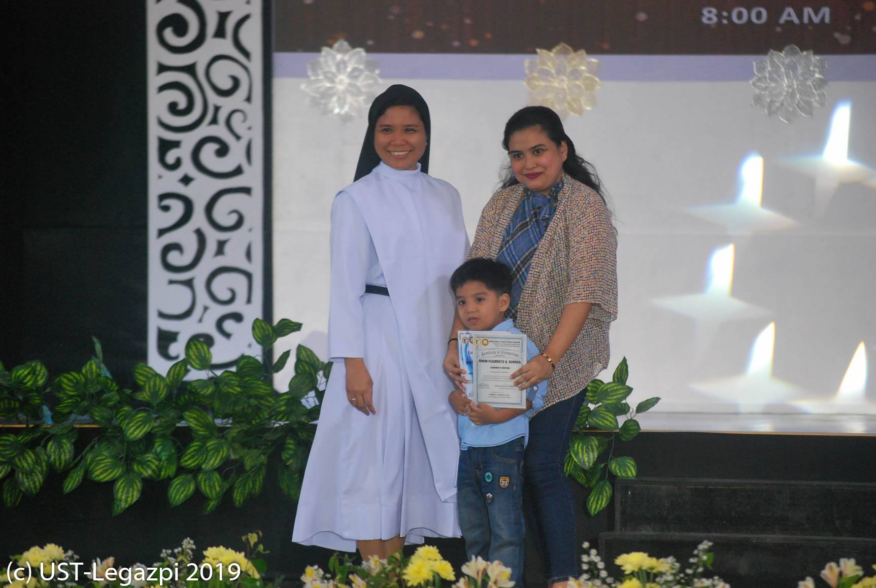 Preschool and Elementary Recognition Rites 2019