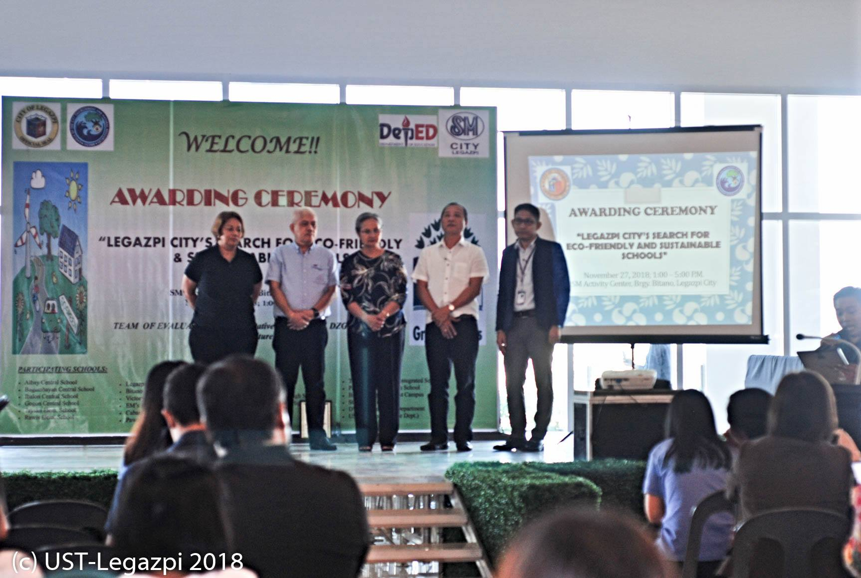 Search for Eco-Friendly & Sustainable Schools Awarding Ceremony