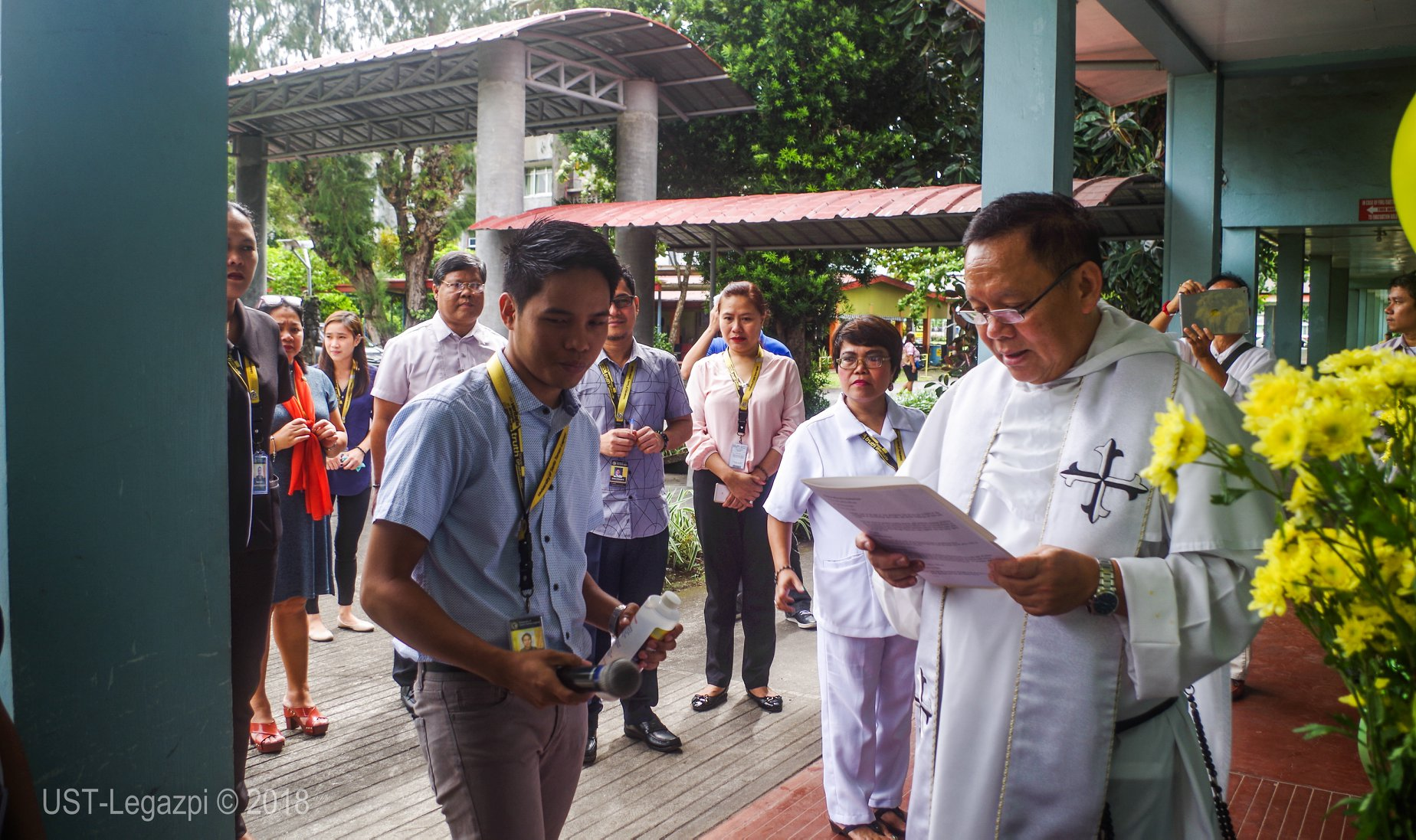 Simultaneous Blessing of Newly Renovated Offices & Classrooms