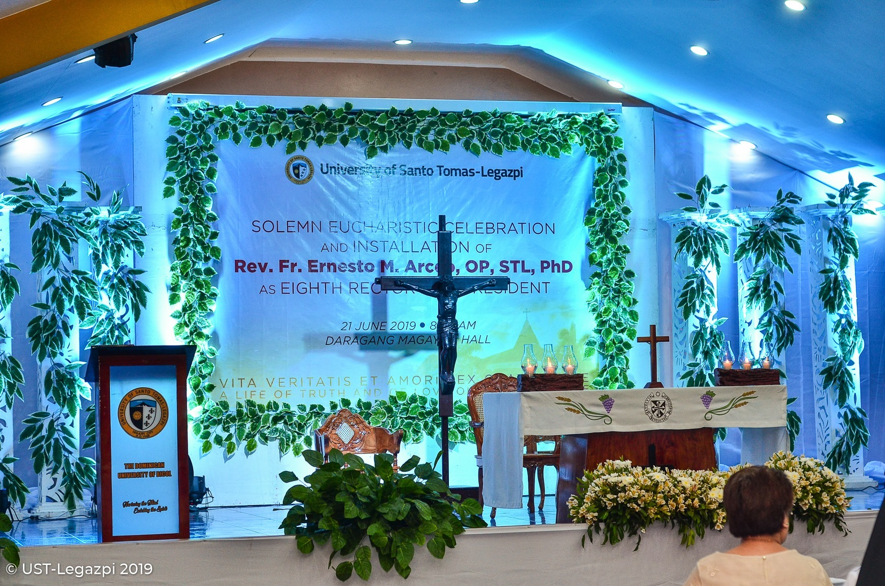 Solemn Eucharistic Celebration and Installation of Fr. Arceo