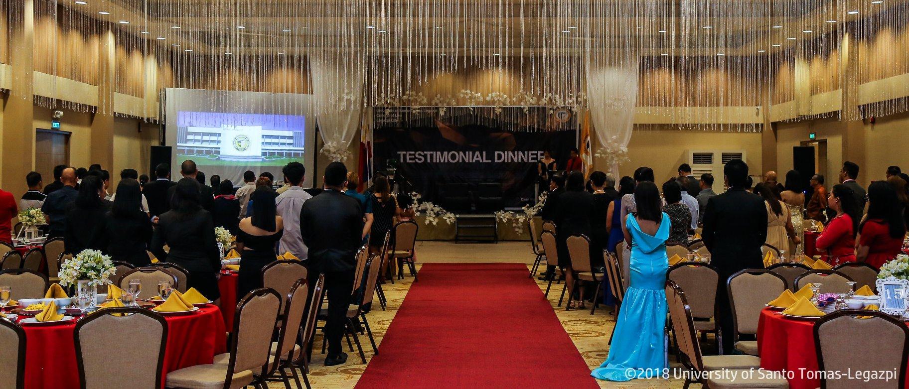 Testimonial Dinner 2018
