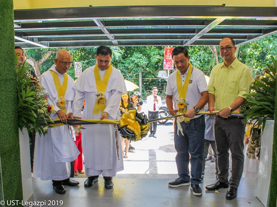 The Blessing and Thanksgiving of the Santo Rosario Building