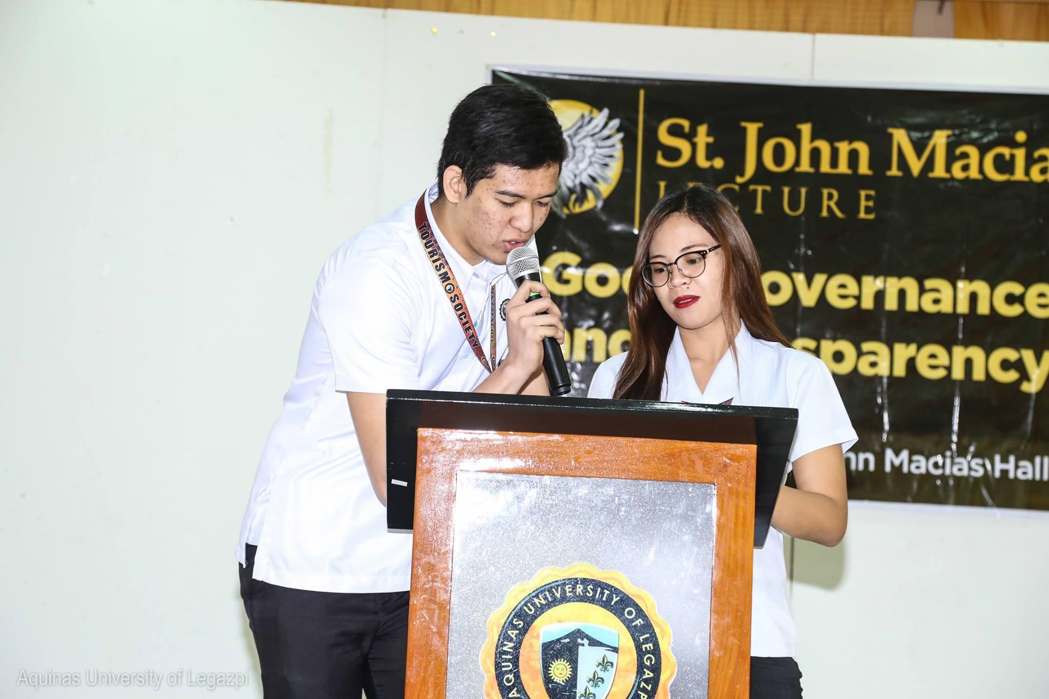 UWEEK 2016: St. John Macias Lecture