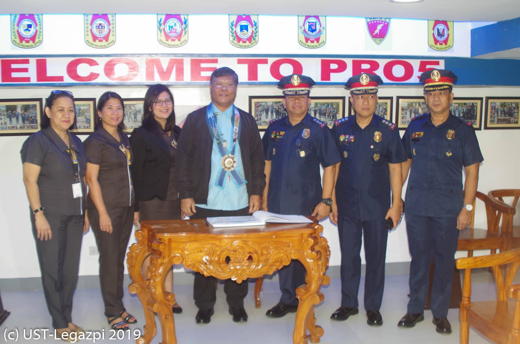 Work Immersion Partnership with PNP R.O. 5